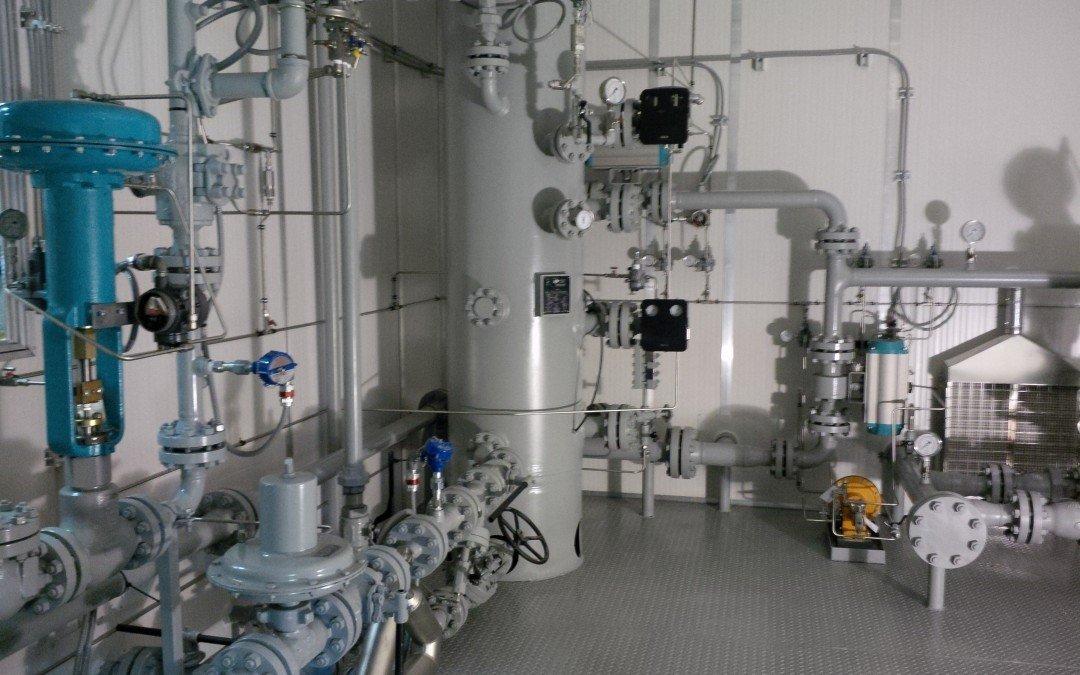 24″ x 10′ s/s 600# Multi Well Separator / Metering Package