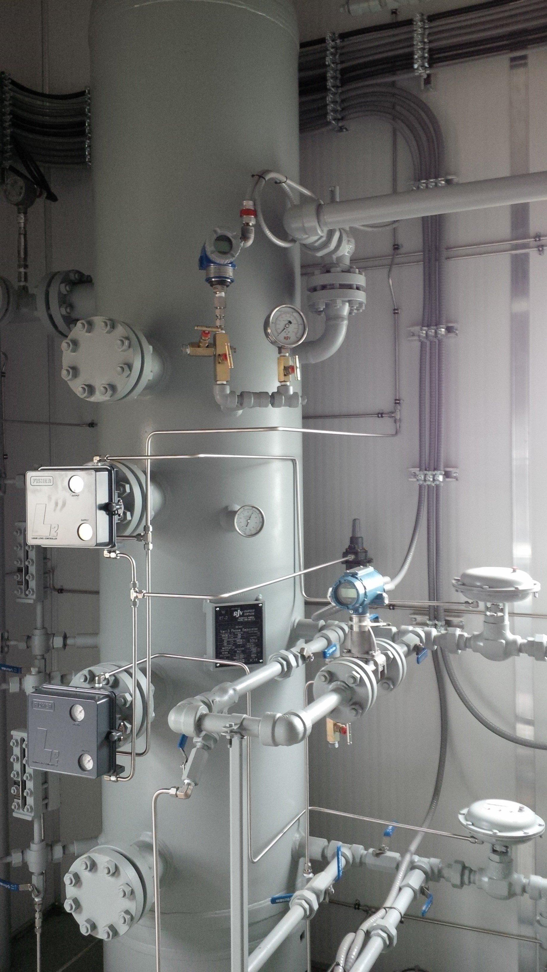 24 Prime Separator Metering 34500 Liter Tank Package RJV Gas